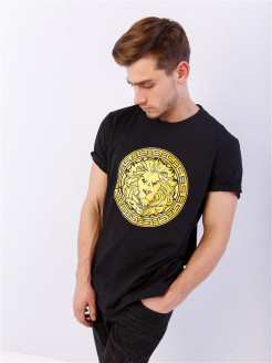 Футболка BS LION LOGO Black Star Wear