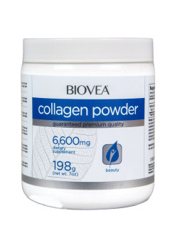 Коллаген Collagen Powder 6600  мг, 198 грамм BIOVEA