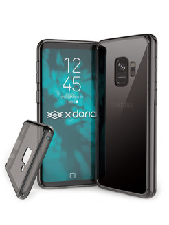 Clearvue Case for Samsung Galaxy S9 Smoke x-doria