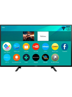 "Телевизор TX-49FSR500, 49"", FHD, Smart TV, Wi-Fi, DVB-T2/S2 Panasonic"