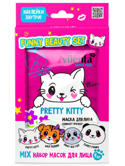 Подарочный набор Vilenta  Funny Beauty Set Pretty Kitty Vilenta