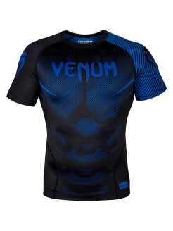 Рашгард NoGi 2.0 Black/Blue S/S Venum