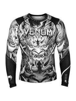 Рашгард Devil White/Black L/S Venum