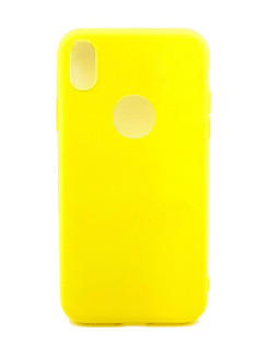 "Чехол для Apple iPhone XR ""Цветной"" Boom Case"