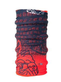Снуд/Бафф/ Reversible - buff Mask Red 4FUN
