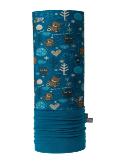 Бандана /Бафф/ WIND PRO - buff Garden Blue(Kid) 4FUN