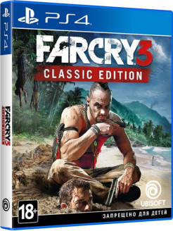 Far Cry 3. Classic Edition [PS4, русская версия] Ubisoft
