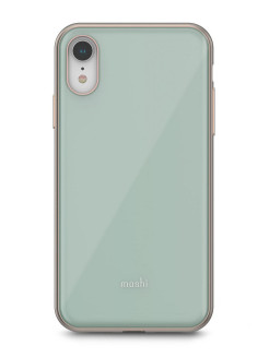Чехол iGlaze голубой для iPhone XR MOSHI