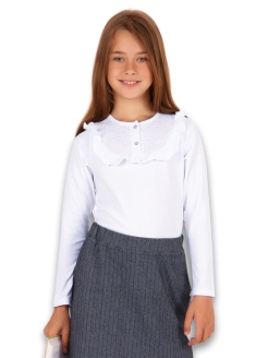 "Blouse - Longsleeve ""Gift to the schoolgirl"" Апрель"