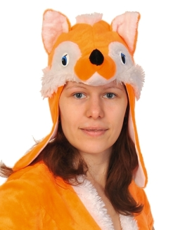 Carnival costume Fox mask hats adult КАРНАВАЛОФФ