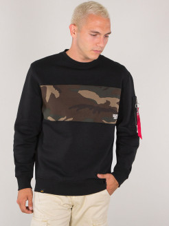 Свитшот Camo Bar Sweater Alpha Industries