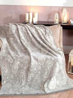 Плед 150X200 Paisley Grey Arya home collection