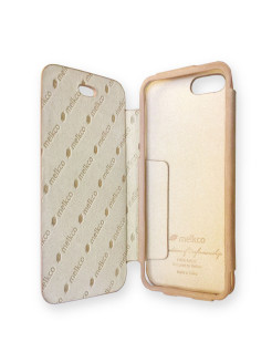 Кожаный чехол книжка для Apple iPhone 5/5S / iPhone SE - Diary Book Type (Vintage Khaki) Melkco