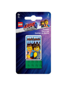 Набор ластиков LEGO (2 шт.) LEGO Movie 2 - Galactic Duo Lego.