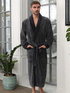 Bathrobe, pocket FIVE WIEN