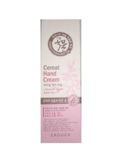 Крем для рук с экстрактом злаков, Grains mixed cereal hand cream, 100 мл ENOUGH