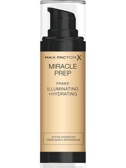 Праймер для лица Miracle Illuminating+hydrating, тон прозрачный MAX FACTOR
