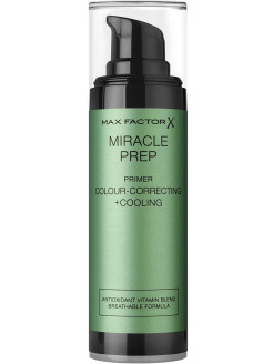Праймер для лица Miracle Colour-correcting+cooling, тон зеленый MAX FACTOR