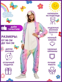 Kigurumi / Pajamas Jumpsuit Rainbow / Star Unicorn / Pony HandyWear