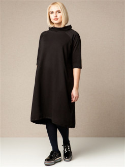 Footer Trapeze Dress Ummami