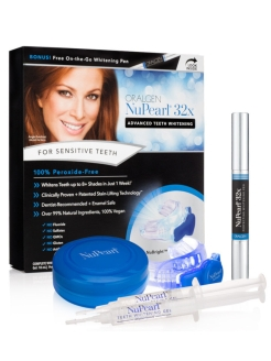 Nupearl.32x Advanced teeth whitening for sensitive teeth ORALGEN