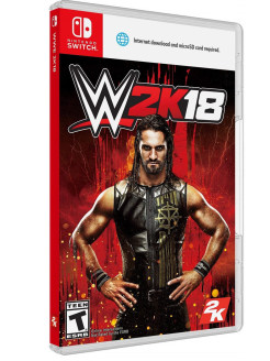 Wwe 2K18 [Nintendo Switch, английская версия] Take 2 Interactive