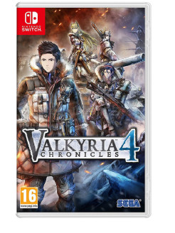 Valkyria Chronicles 4 [Nintendo Switch, английская версия] Sega