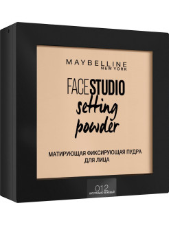 "Maybelline New York Пудра для лица ""FACESTUDIO Setting Powder"", матирующая фиксирующая, 9г Maybelline New York"
