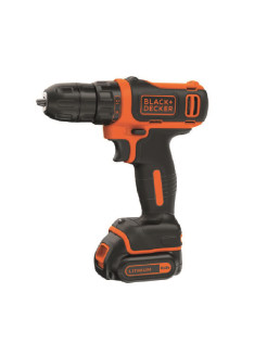 Шуруповерт Black & Decker BDCDD12KB-XK с аккумулятором Black+Decker