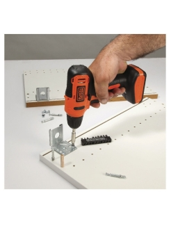 Шуруповерт Black & Decker LD12SP-RU с аккумулятором Black+Decker
