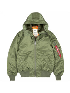 Куртка MA-1 Hooded Alpha Industries