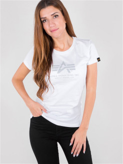 Футболка Logo T Wmn Alpha Industries