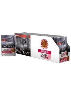 Wet pet foods, for cats, 85 g PRO PLAN
