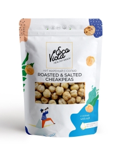 Нут с солью 125г ECOVIDA healthy snack