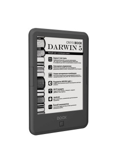 Электронная книга ONYX BOOX DARWIN 5 (Carta, Android, MOON Light+, Wi-Fi, 8 Гб) ONYX Boox