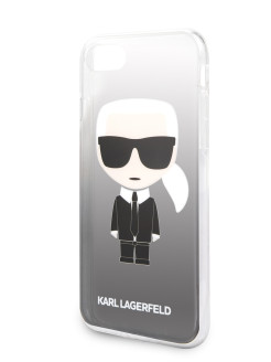 Чехол Lagerfeld для iPhone 7/8 TPU collection Choupette Sunglasses Hard Black Karl Lagerfeld