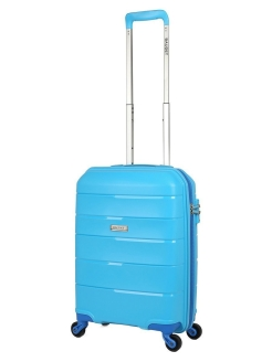 Plastic suitcase on four wheels, size S, for hand luggage, 36 l. BAUDET.
