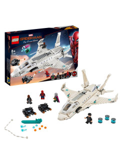 Designer LEGO Marvel Super Heroes 76130 Stark jet aircraft and drone attack LEGO