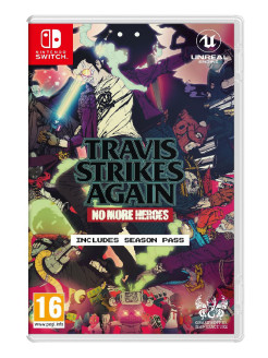 Игра Nintendo Switch на картридже Travis Strikes Again: No More Heroes NINTENDO