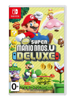 Игра Nintendo Switch на картридже New Super Mario Bros. U Deluxe NINTENDO