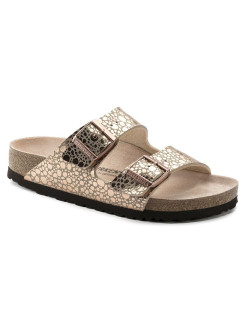 Биркенштоки Arizona BF Metallic Stones Copper Narrow BIRKENSTOCK