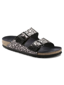 Биркенштоки Arizona BF Metallic Stones Black Narrow BIRKENSTOCK