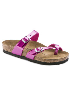 Биркенштоки Mayari BF Electric Metallic Magenta Narrow BIRKENSTOCK