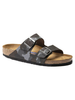 Биркенштоки Arizona SFB BF Desert Soil Camou Brown Regular BIRKENSTOCK