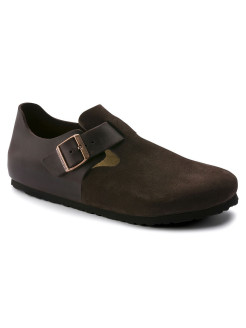 Полуботинки London FL/VL Ebony Regular BIRKENSTOCK