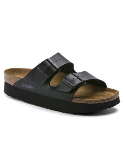 Биркенштоки Arizona Platform BF Black Narrow BIRKENSTOCK