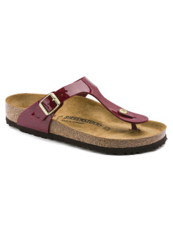 Пантолеты Gizeh BF Magic Snake Bordeaux Narrow BIRKENSTOCK