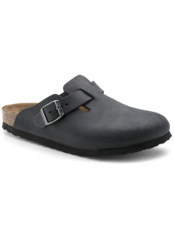 Сабо Boston FL Schwarz Regular BIRKENSTOCK
