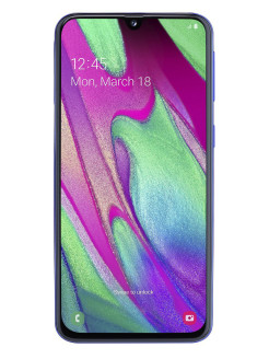 Смартфон Galaxy A40(2019): 5,9'' 2340 x 1080/Super Amoled Exynos 7904 4Gb/64Gb 16+5Mp/25Mp 3100 mAh Samsung