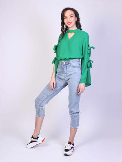 Cropped trousers Malu